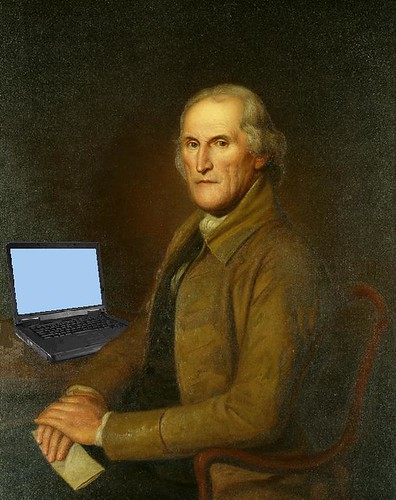 James Latimer Blogging, after Clawson Shakespeare Hammitt's copy of Charles Willson Peale's Portrait | by Mike Licht, NotionsCapital.com