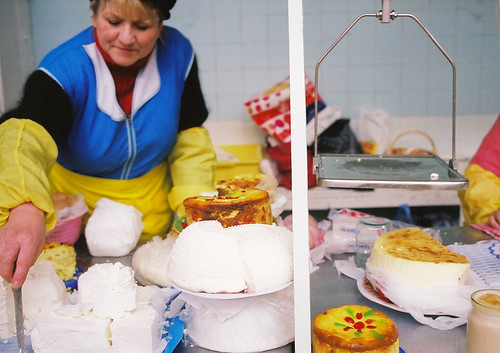 Making cheese in Besarabsky Market | by World Bank Photo Collection