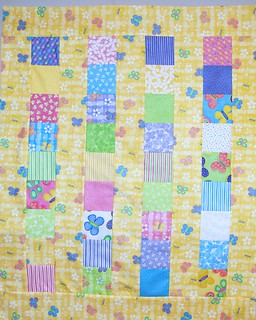 simple strip quilt | by spunsugarquilts