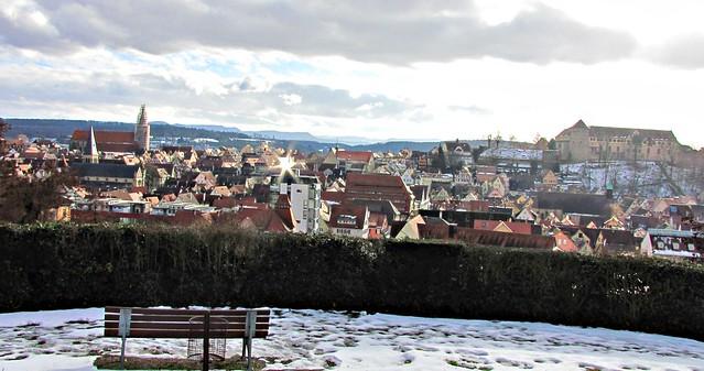 Tübingen on a sunny winterday