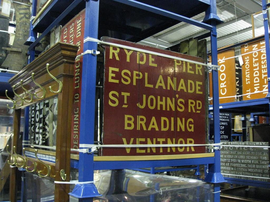 94c97d7f52c79 Isle of Wight railway signs at the NRM | David Jones | Flickr