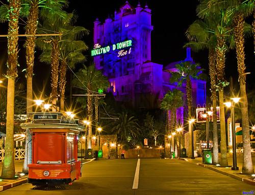 "Historic Sunset Boulevard Landmark:  The Hollywood Tower Hotel (""RAW Idea"")   by Tom.Bricker"