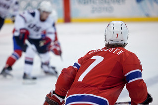 USA vs Norway - Mens Hockey - Canada Hockey Place - Vancouver British Columbia   by Kris Krug