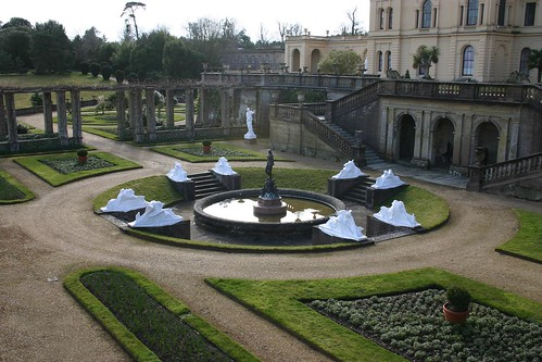 Wrapped Statues at the Osborne House | by mark.hogan