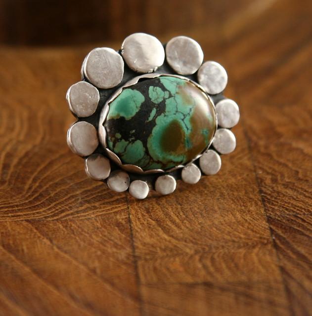 Living Stone Daisy Ring