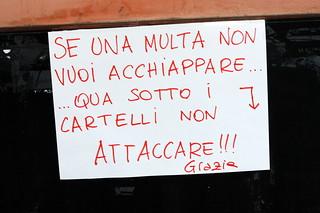 Se una multa non vuoi acchiappare... | by Niccolò Caranti