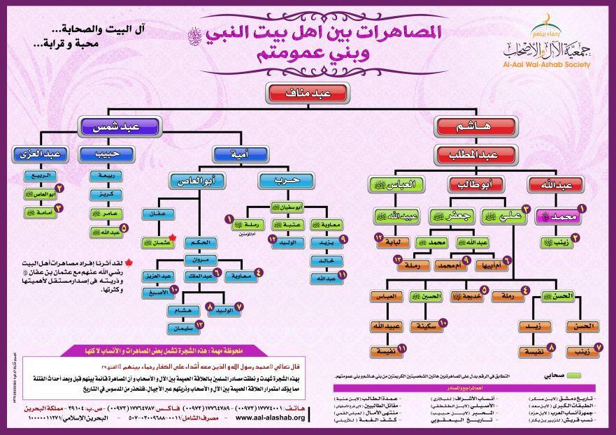 26 شجرة النبى الخاتم و أصحابة 6