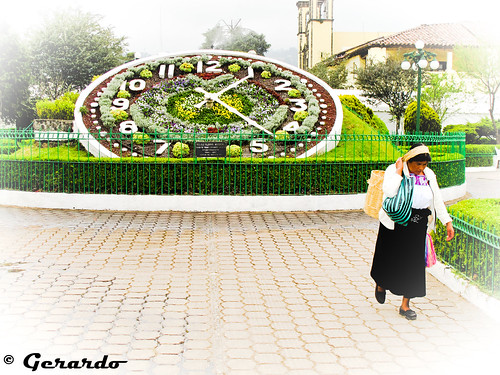 Amanecer en Puebla