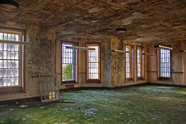 Abandoned Talgarth Mental Hospital