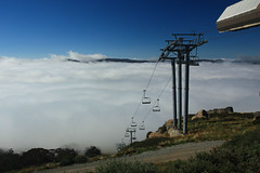 Top of chairlift, Thredbo