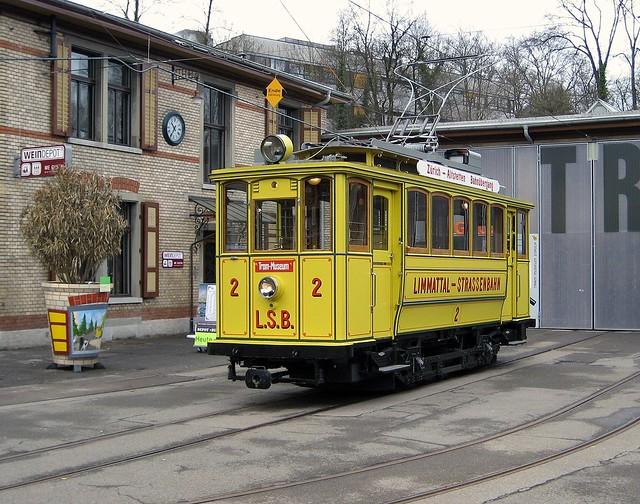 LSB 2 Limmattal-Strassenbahn Tram Museum Zürich