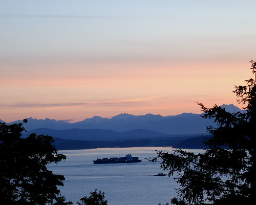 2010-05-13 Dusk across Puget Sound | by orcmid