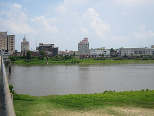 louisiana unitedstates skylines monroe 2010 ouachitariver