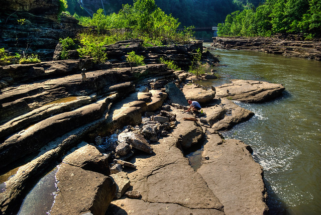 Caney Fork River, Jason Collard, Rock Island State Park, Warren Co, TN
