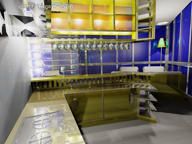 Autodesk 3Ds Max Model โมเดล 3 มิติ ทำเอง
