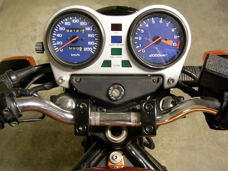 CB 450 S - Cockpit