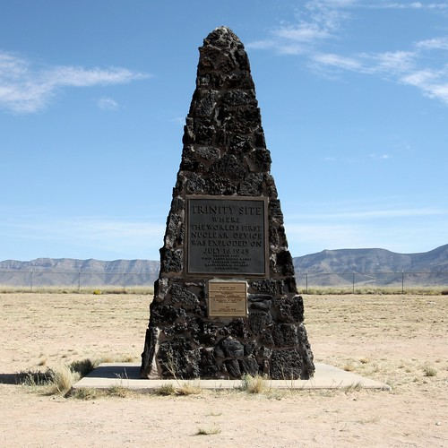 Trinity Site Obelisk National Historic Landmark | by uıɐɾ ʞ ʇɐɯɐs