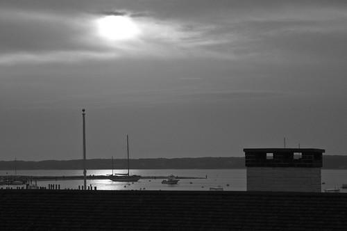 chimney sailboat sunrise marthas vineyard edgartown chappaquidick