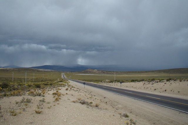 Tormenta de verano en la Pampa