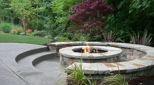 Diy Outdoor Fire Pit Seating