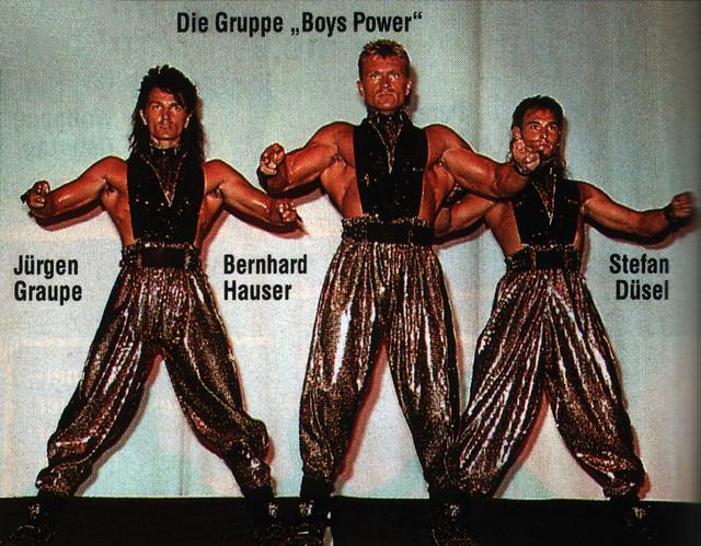 German 80's fitness boy group