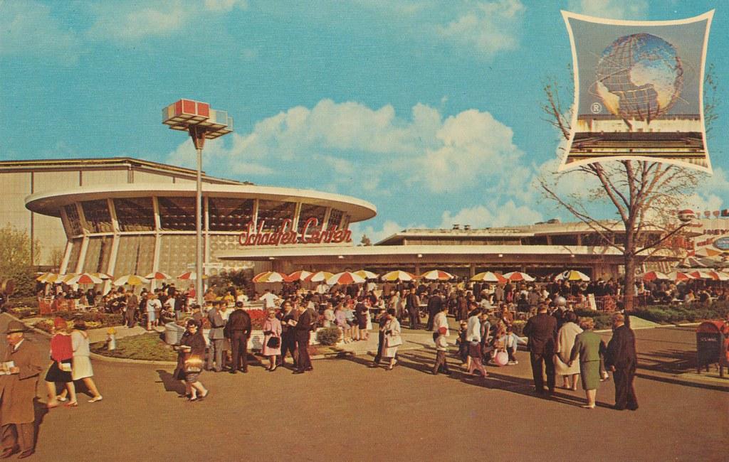 New York World's Fair 1964-65 - Schaefer Center