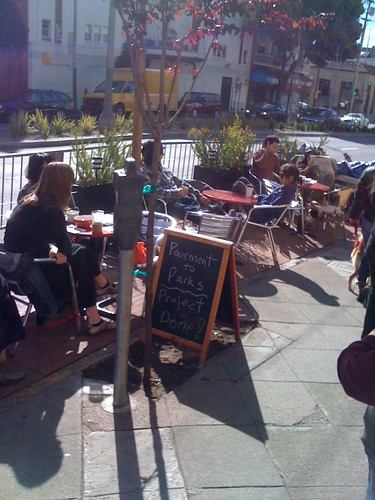 Parklet Accomplished | by sfbike