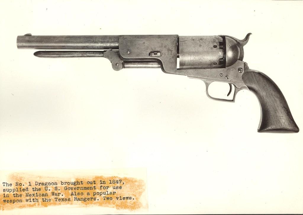 Colt Walker 1847 Civilian, left view   Description - A Colt
