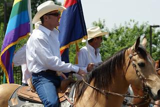 Cowboys at Phoenix Gay Pride Parade | by Fritz Liess