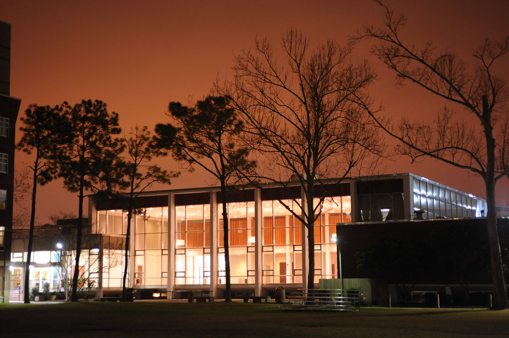 The front of Danna Student Center