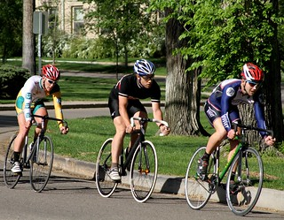 Fort Collins Velodrome Association bicycle races @ CSU Oval | by Paul L Dineen