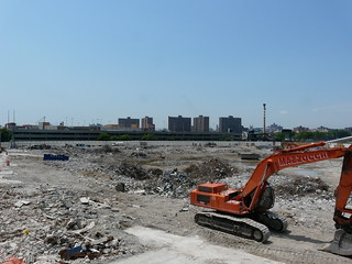 What's left of the Old Yankee Stadium | by Marianne O'Leary