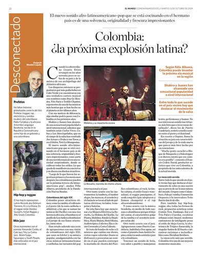 Periódico El Mundo Venezuela Octubre 13 de 2009