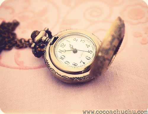 Time Traveler Vintage Pocket Watch Ever Wanted To