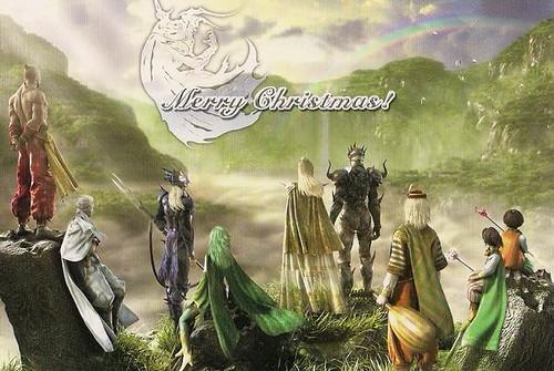 Final Fantasy Christmas.Merry Christmas Final Fantasy Yopinori From Japan Ra