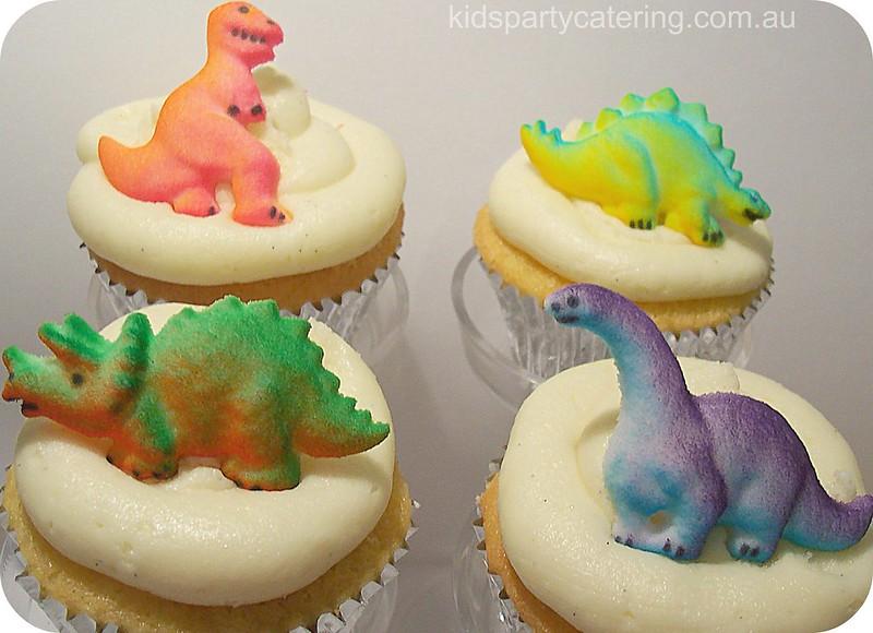 cupcakes dinosaures