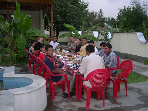 Family Lunch in Contemporary Uzbekistan