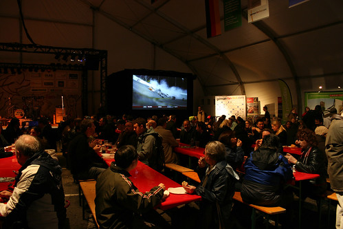 German Fest Beer Garden – Vancouver Olympics   by Lucian Savluc