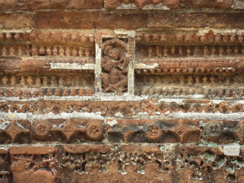 Terracotta Works on Temple, Bishnupur