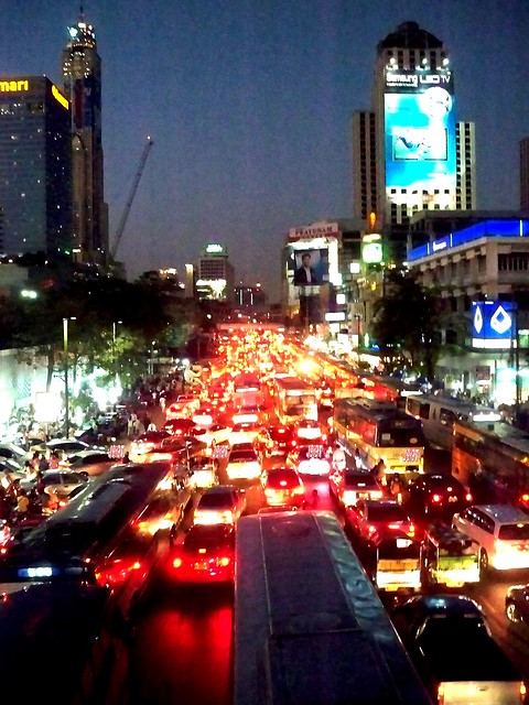 On the road, Bangkok, Thailand