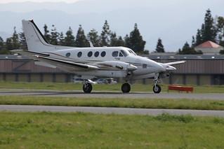 Beechcraft King Air Takeoff RHV