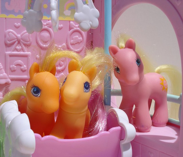 G2 European Baby My Little Ponies | The first revival of My
