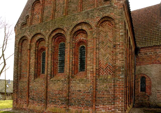Leermens, Groningen, Sint-Donatuskerk, exterior, detail
