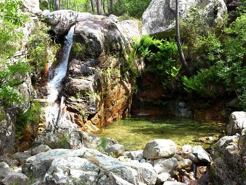 Cascade du ruisseau de Peralzone