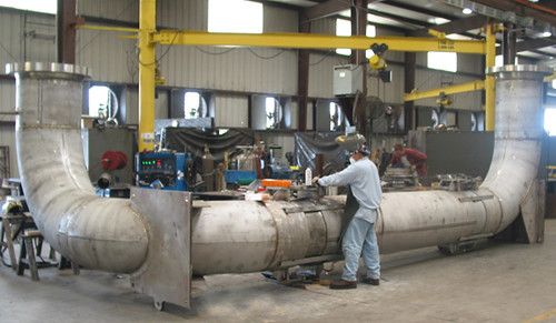"Three 23' - 1/3"" Expansion Joints for a Refinery in New Jersey"