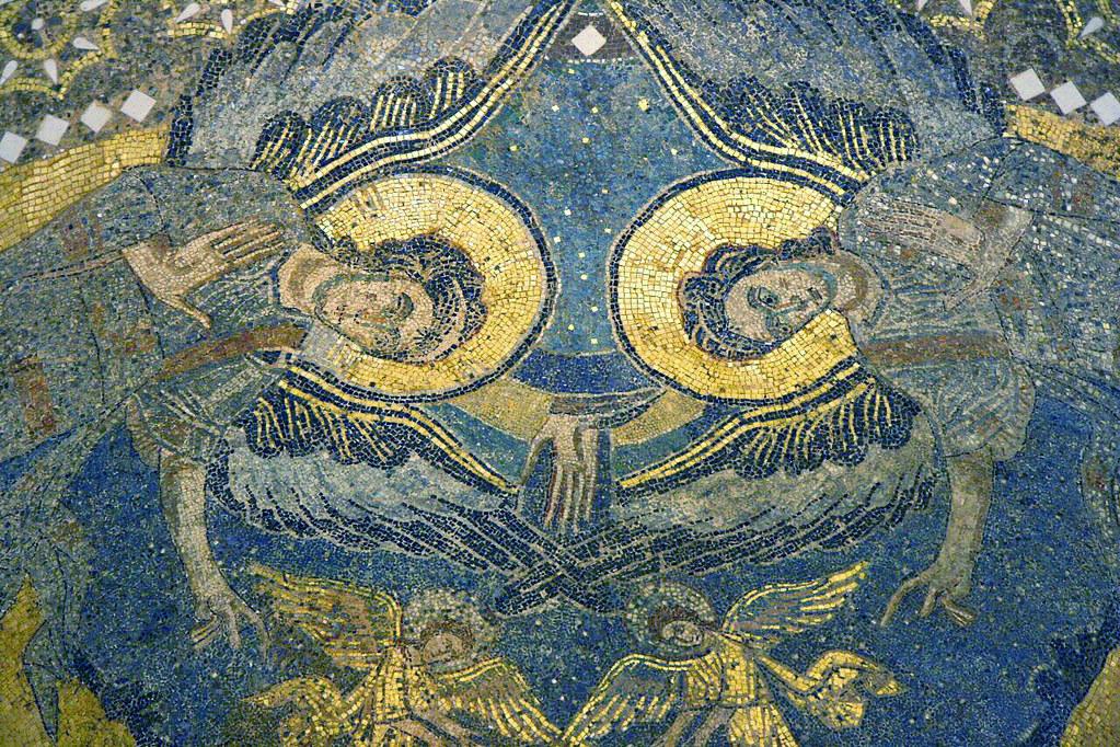 Byzantine mosaic from 805 AD