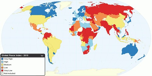 Peace around the World - 2010