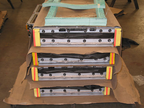 48 Multi-Layer High Temperature Rectangular Fabric Expansion Joints for a Gas Plant in Baytown, Texas