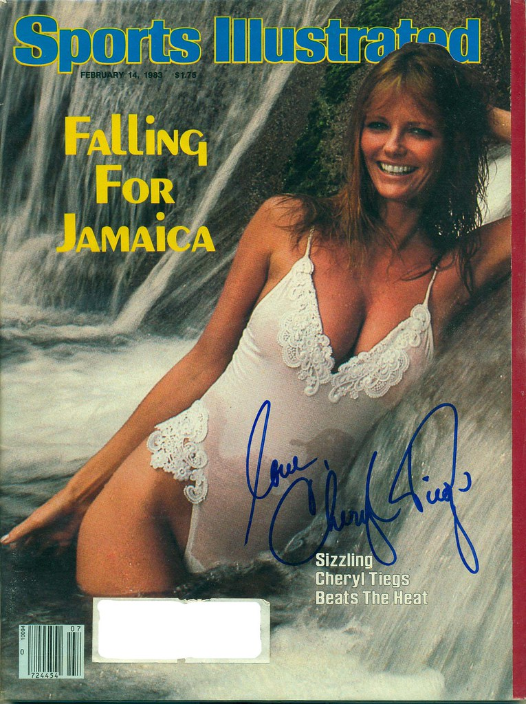 February 14, 1983, Autographed Sports Illustrated by Chery