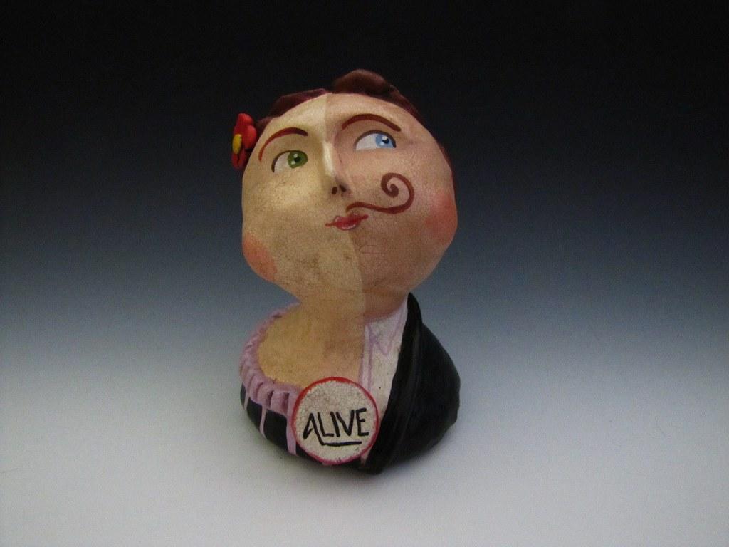 Folk Art Circus Sideshow Art Doll Half Man Half Woman Flickr